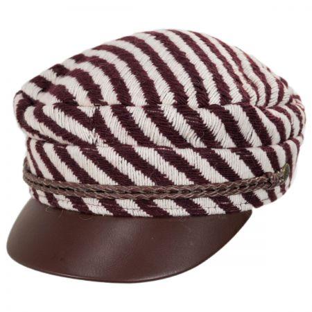 Brixton Hats Albany Striped Fisherman Cap
