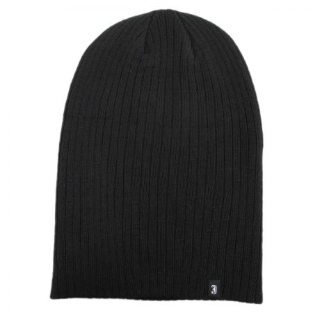 Oversized Ribknit Beanie Hat alternate view 1