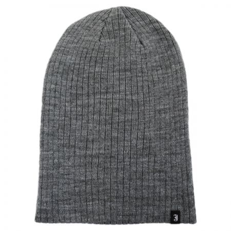 Oversized Ribknit Beanie Hat alternate view 4