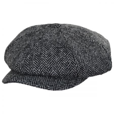 Harris Tweed Newsboy at Village Hat Shop 536426c1da7