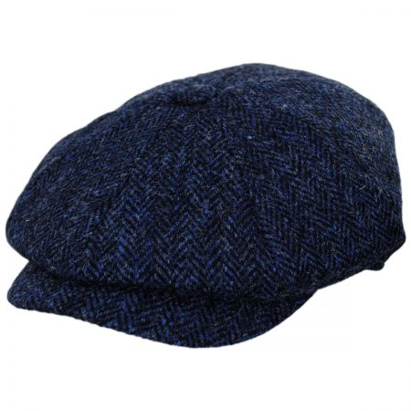 Harris Tweed Skye Wool Newsboy Cap alternate view 1
