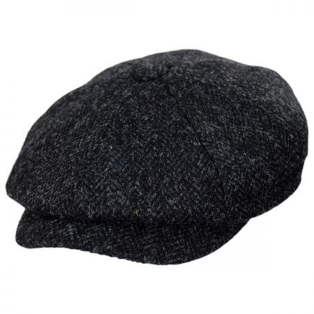 Jaxon Hats Harris Tweed Taransay Wool Newsboy Cap Newsboy Caps 55a9b5dc9bd