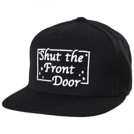 Shut the Front Door Snapback Baseball Cap alternate view 1