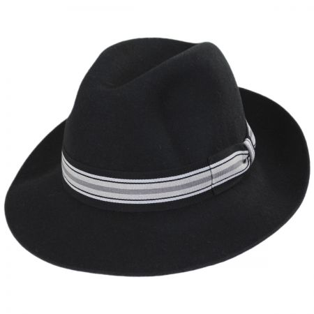 Stefeno Madison Wool Felt Fedora Hat