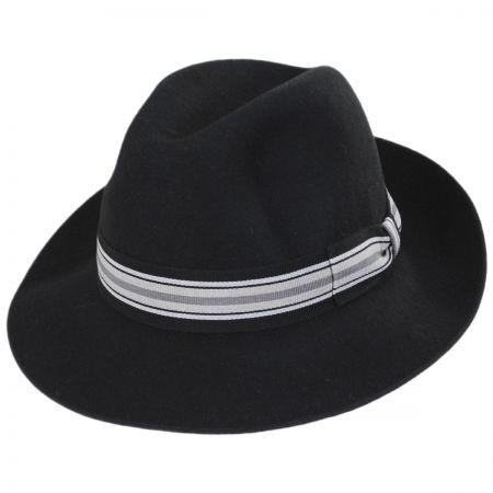 Madison Wool Felt Fedora Hat