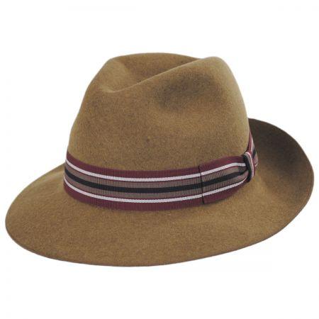 Madison Wool Felt Fedora Hat alternate view 9