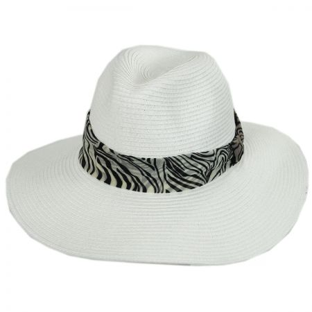 Khumba Toyo Straw Fedora Hat alternate view 5