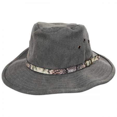 Smithsonian Anaconda Cotton Outback Hat