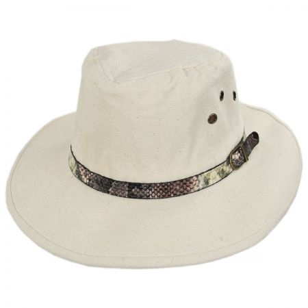 Smithsonian Anaconda Cotton Outback Hat