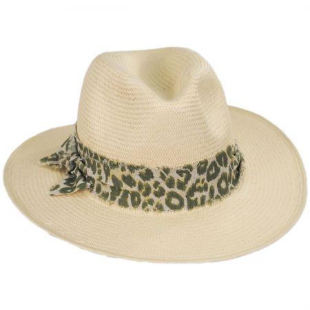 Olive Green Straw Fedora at Village Hat Shop 3d07d516159