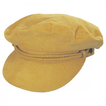 Brixton Hats Ashland Corduroy Fiddler Cap