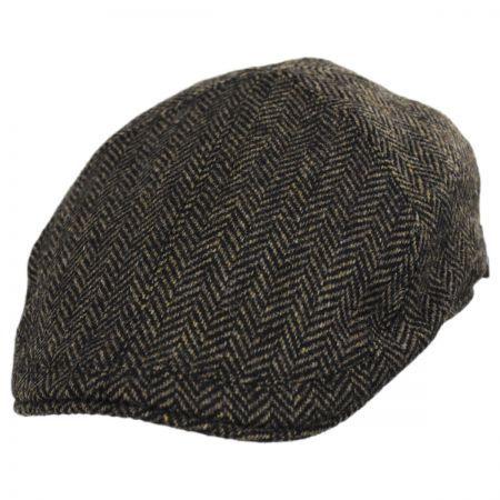 Classic Shetland Wool Herringbone Duckbill Ivy Cap alternate view 57