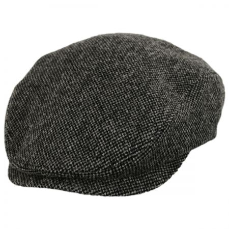 Wigens Caps Donegal Dark Gray Shetland Earflap Wool Ivy Cap