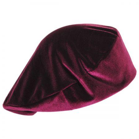 Brixton Hats Audrey Velour Beret