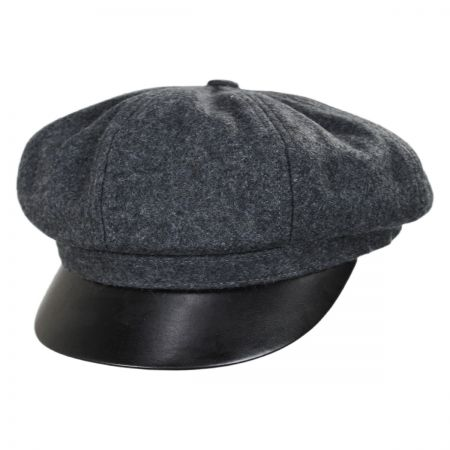 Brixton Hats Montreal Wool Blend Baker Boy Cap