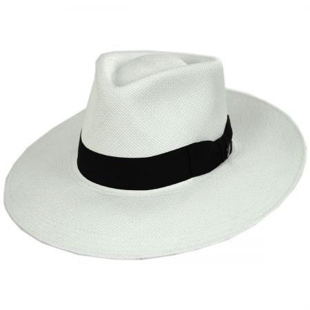 Australian Grade 3 Panama Straw Fedora Hat alternate view 9
