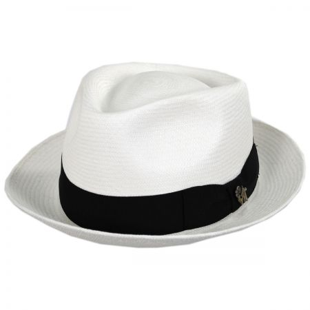 Quickstep Grade 8 Panama Straw Fedora Hat alternate view 13