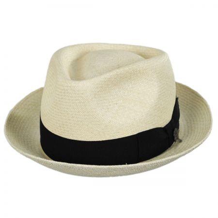 Quickstep Grade 8 Panama Straw Fedora Hat