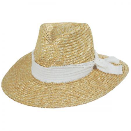 f72d17ce1 Solange Milan Straw Fedora Hat