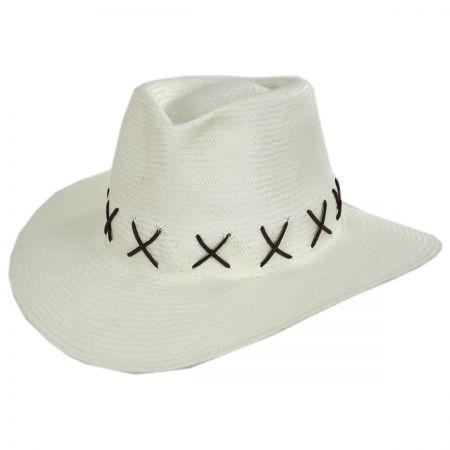 ale by Alessandra Veracruz Toyo Straw Fedora Hat