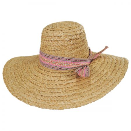 Azteca Raffia Straw Sun Hat alternate view 6