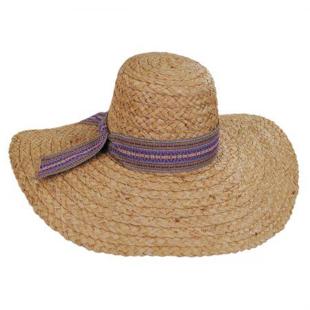 Azteca Raffia Straw Sun Hat alternate view 1