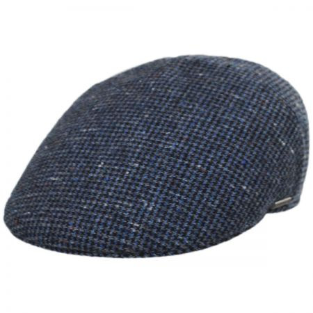 Check Wool Ivy Cap
