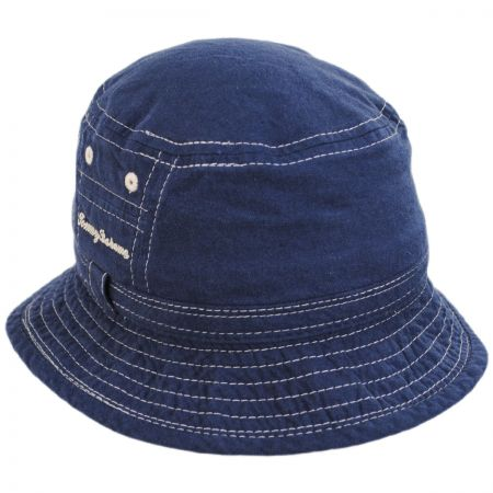 Tommy Bahama Mollusc Cotton Linen Blend Bucket Hat