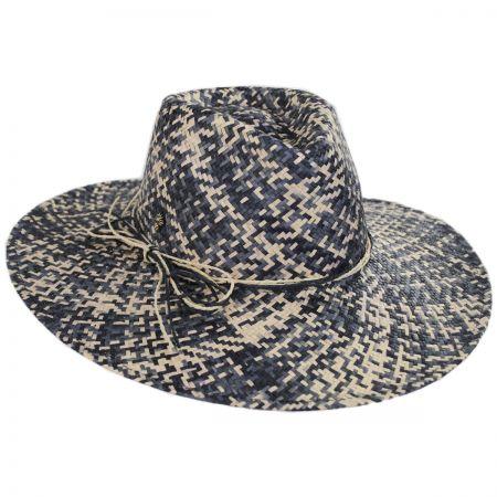 Chiloe Toyo Straw Fedora Hat alternate view 1