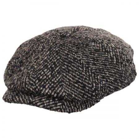Dollis Poly Wool Blend Newsboy Cap