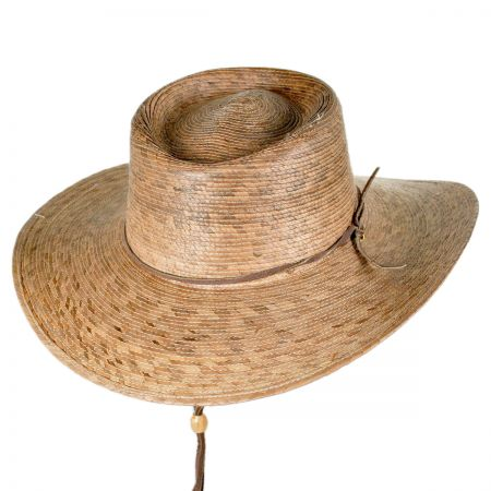 Outback Palm Straw Hat with Chincord alternate view 13