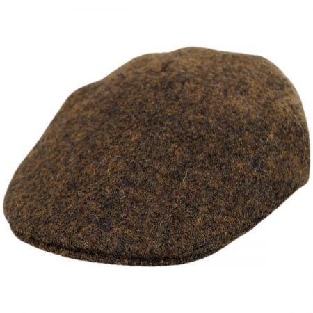 Stefeno Boris Harris Tweed Wool Ascot Cap