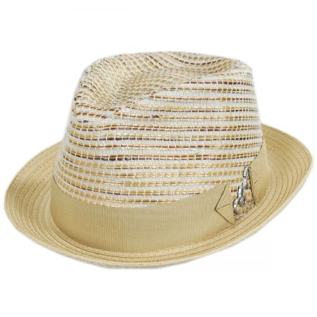 Timbuktu Toyo Straw Blend Fedora Hat alternate view 5
