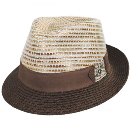 Timbuktu Toyo Straw Blend Fedora Hat alternate view 21