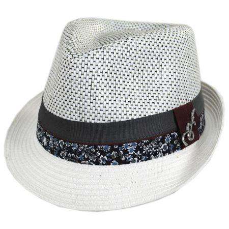 Dorsey Toyo Straw Blend Fedora Hat alternate view 13