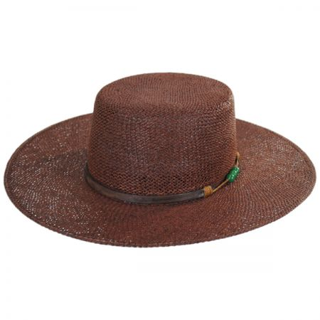 b643ddb49f3b0 Flat Crown Hats at Village Hat Shop