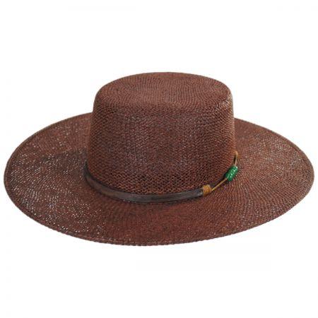 Carlos Santana Credo Twisted Toyo Straw Gaucho Hat