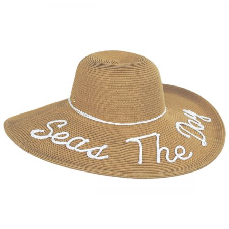 Shoreline Statements Toyo Straw Blend Swinger Hat