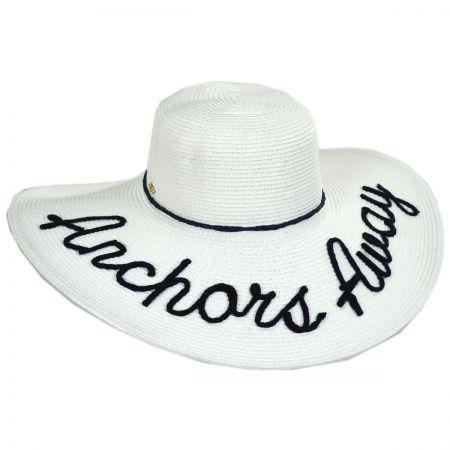 Cappelli Straworld Shoreline Statements Toyo Straw Blend Swinger Hat