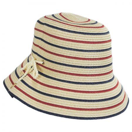 Sebastin Toyo Straw Blend Cloche Hat alternate view 1