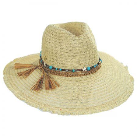 Cappelli Straworld Pompano Toyo Straw Blend Fedora Hat