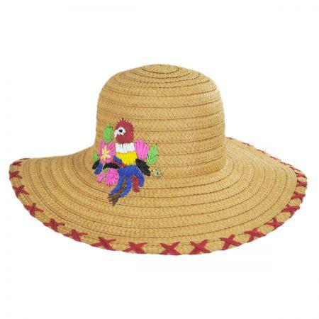 Beacons Toyo Straw Floppy Hat