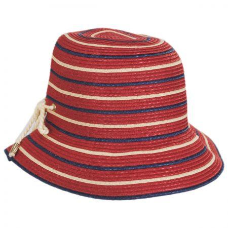 Sebastin Toyo Straw Blend Cloche Hat alternate view 9