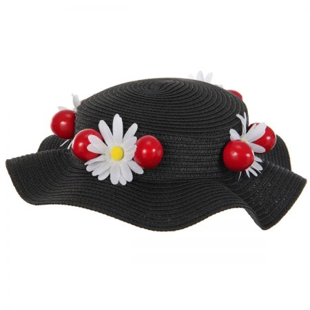 39b9ac55c Mary Poppins Boater Hat
