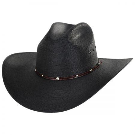 Blaze Cattleman Palm Straw Western Hat alternate view 1