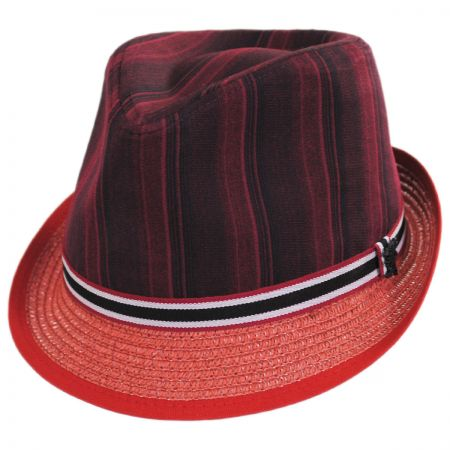 Red Trilby at Village Hat Shop eb93783eb7a