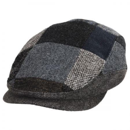63e435ab2 Patchwork Wool Blend Ivy Cap