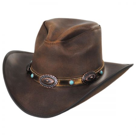 Carson City Leather Western Hat alternate view 29