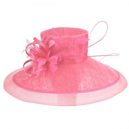 Kentucky Derby Lady's Secret Sinamay Lampshade Hat