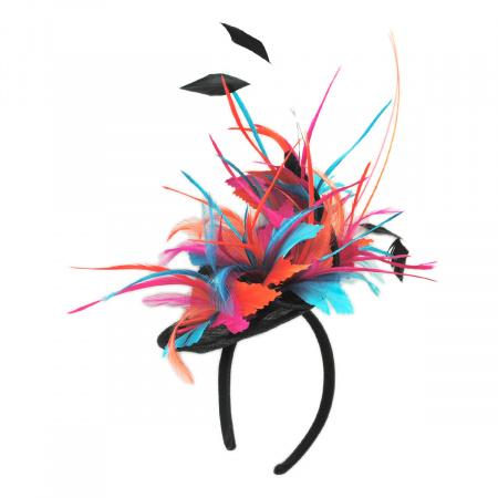 Kentucky Derby Zenyatta Sinamay Fascinator Hat